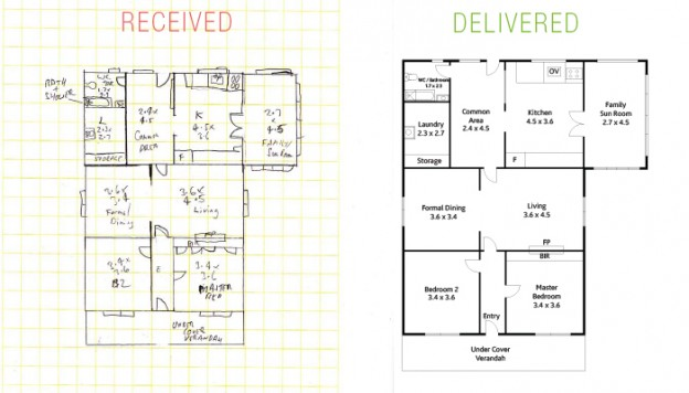 Bon 2D Floor Plan, House Plan Design For Your Home And Villas