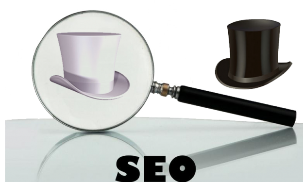 Black hat and white hat seo