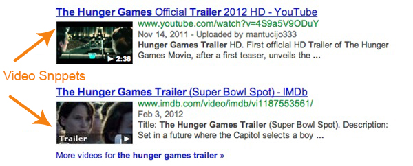 Video - Rich Snippets