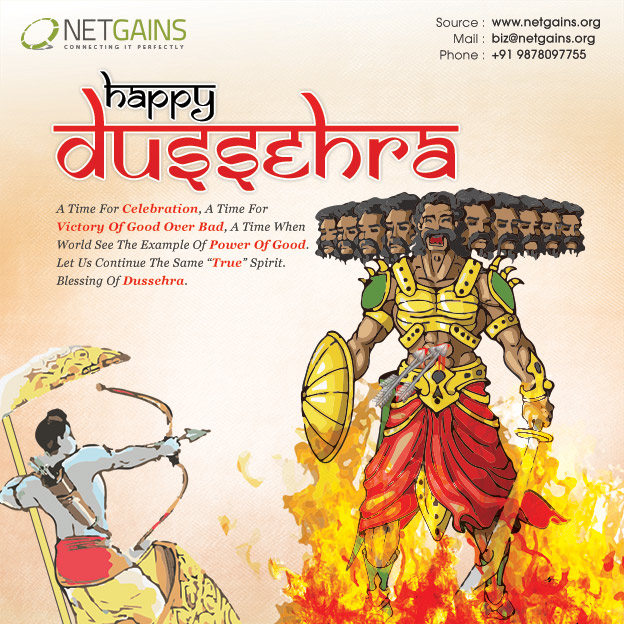 Happy Dussehra Netgains