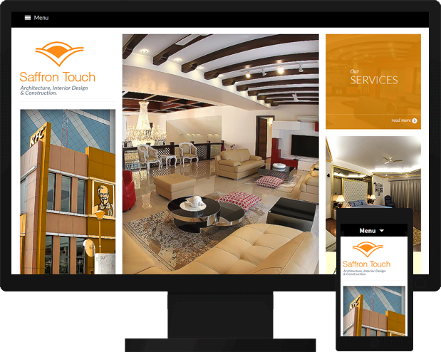 Saffron Touch Interior Design and Construction Website Launched