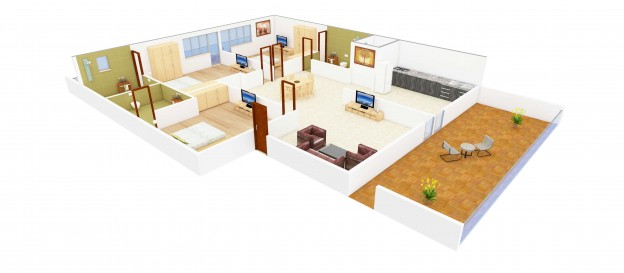 3D Floor Plans – Now Foresee Your Dream Home | Netgains