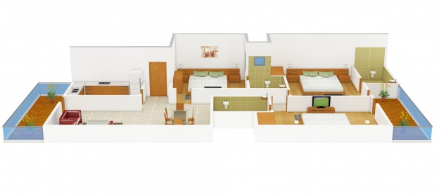 Architectural cad design drafting outsourcing services for Floor plan drafting services