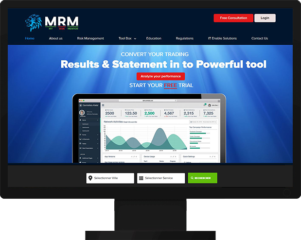 Financial Analytics Tool Website launched