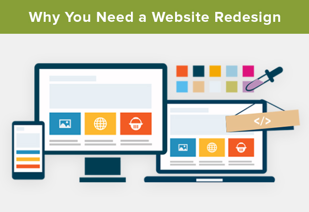 Why You Need a Website Redesign