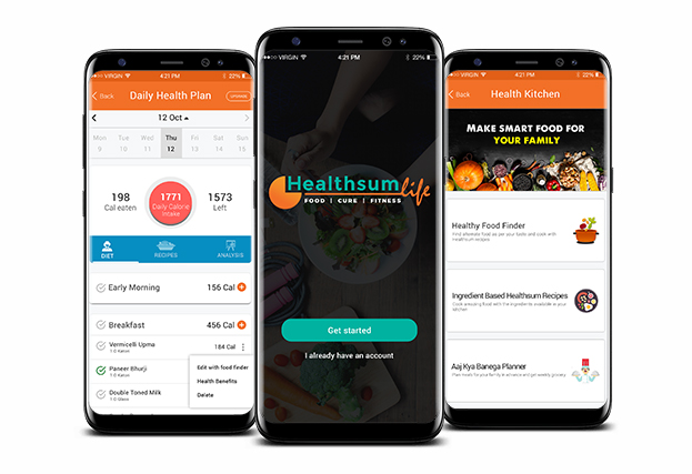 Weight Loss & Health Kitchen Android App Development