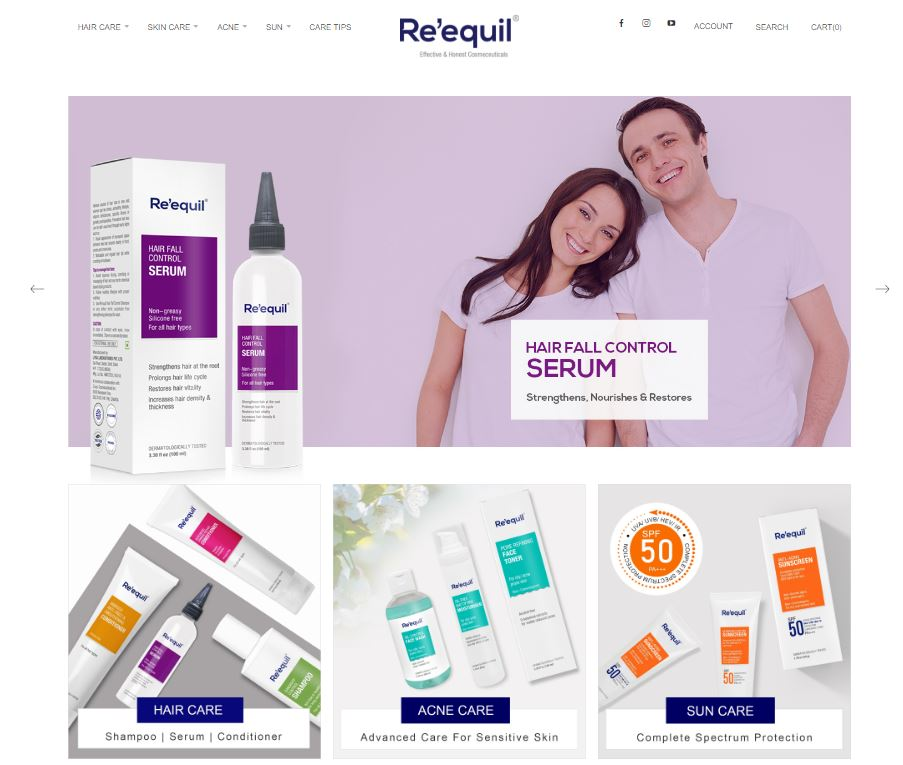 Magento Theme Design for Beauty and Cosmetic eStore